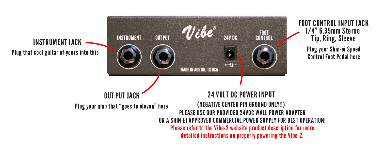 Vibe-2 Manual